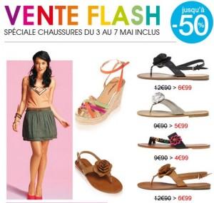 Vente flash Kiabi jusqu'à moins 50% sur les Chaussures