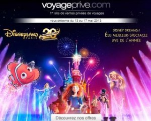 vente privee Disney
