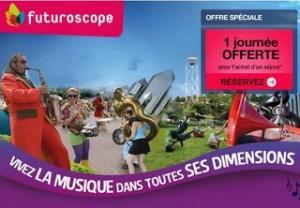 Futuroscope : 1 journée supplémentaire gratuite pour un séjour 2j/2n acheté