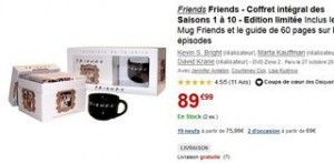 INTEGRAL FRIENDS MUG FNAC