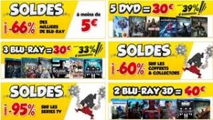 Jusqu'à moins 95% sur Blu-ray et DVD - SOLDES