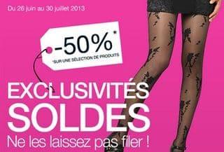 Le Bourget : moitié prix collants, bas et leggings (SOLDES)