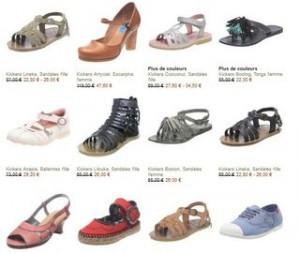Chaussures Kickers moins 60% (livraison gratuite / 35 modèles différents)