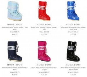 Soldes Moon Boot 25 euros