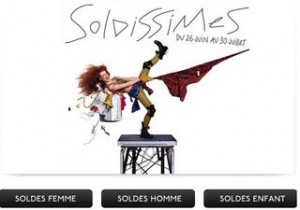 Soldissimes Galeries Lafayette