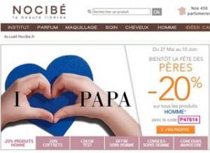 Nocibé : Moins 20% sur les parfums hommes et coffrets parfum (code promo)