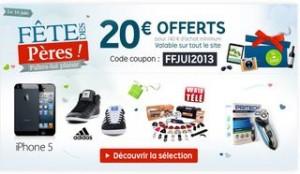 20 euros de réductions pour 140 euros (Priceminister