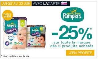 promo monoprix Pampers
