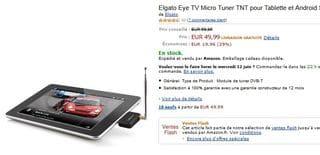 récepteur TV TNT Elgato Eye pour appareil Androïd à moins de 50 euros