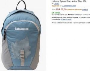 Offre 1 sac à dos Lafuma à 1 euro
