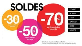 Soldes Kiabi ! Moins 70% + code promo 10% supplémentaire