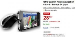 soldes kit gps Garmin iPhone