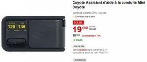 Moins de 20€ Assistant d'aide à la conduite Mini Coyote au lieu de 89 euros (-70%)