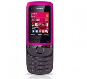 Moins de 20 euros Téléphone Nokia C2-05 Rose port inclus/sans engagement