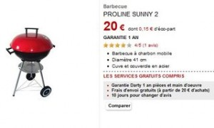 vente flash barbecue 20 euros