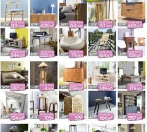 Code promo moins 50% (meubles, vasques…) Tikamoon