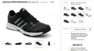 Adidas Sumbrah 2 noire sarenza