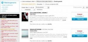 Bon plan Ebooks : 500 ebooks gratuits sur Fnac.com