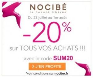 Bon plan Parfum : -20% sur vos achats chez Nocibé (code promo)