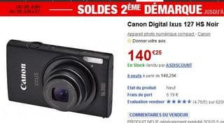 Canon IXUS 127 HS
