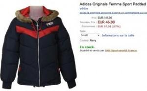 PROMO Doudoune Adidas Originals