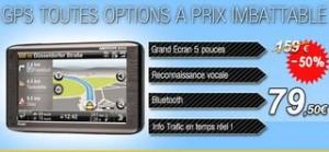"""Moitié prix ! Moins de 80 euros le GPS Medion GoPal P5460 (carte Europe 44 pays, Écran tactile 5"""", Vtrafic, Bluetooth, commande vocale, mains-libres…)"""