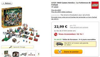 LEGO Games Heroica MyToys