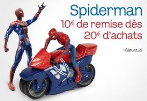 Offre speciale SPIDERMAN