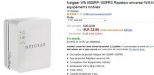 PROMO Repeteur Wifi-N 150 equipements mobiles Netgear WN1000RP-100FRS