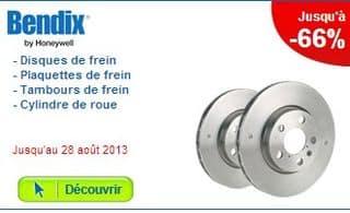 Promo sur le Freinage Bendix