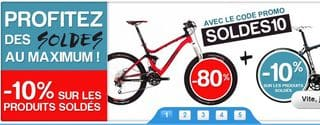 SOLDES ACYCLE MOINS 80 POURCENT + CODE PROMO