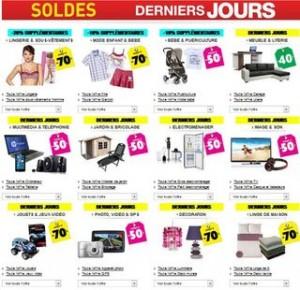 Derniers jours soldes Auchan : jusqu'à moins 20% supplémentaires