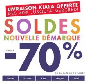 Nouvelle démarque Défi Mode : moins 70% + livraison gratuite dès 40€  jusqu'à mercredi