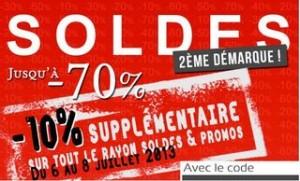 10% supplémentaire sur les Soldes Delaveine