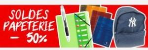 Soldes Papeterie : 100 articles à moitié prix (livraison gratuite dès 10€)!