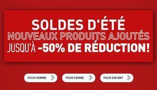 Soldes Puma ! Nouvelle démarque + code promo -20% supplémentaires