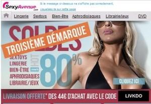 Soldes lingerie sexy et charme Sexy Avenue