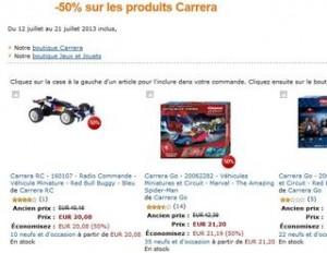 Voiture télécommandée Carrera à moitié prix ! (à partir de 15,70€)