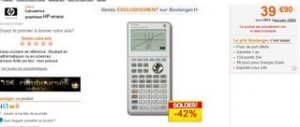 calculatrice HP soldes ODR