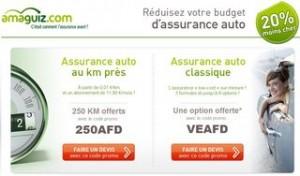 Bon plan Assurance Auto : code promo Amaguiz