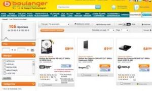 Code promo moins 10% sur les disques durs / Boulanger (exclu internet)