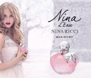 Eau de toilette Nina L'Eau acheté = 1 Miniature 4ml Nina L'Eau offerte (code promo)