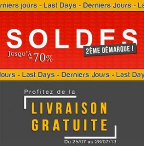 Derniers jours soldes + livraison gratuite sans minimum chez Delaveine : jusqu'à moins 70%