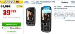 Téléphone Polaroid Transformer G510 à seulement 39,99 euros