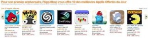 10 applis Android offertes Amazon