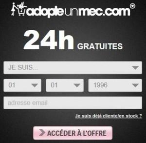 Adopte un Mec : 24 heures gratuites