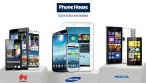 Phone House : bon d'achat de 40 euros pour 20 euros (RoseDeal Vente Privée)