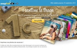Snapfish 1 centime la photo / anciens et nouveaux clients + 20 photos gratuites nouveaux clients