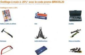 Code promo Amazon : Moins 20% sur les outils (Clés, Douilles, Marteaux, Boîtes à outils, Tournevis…)