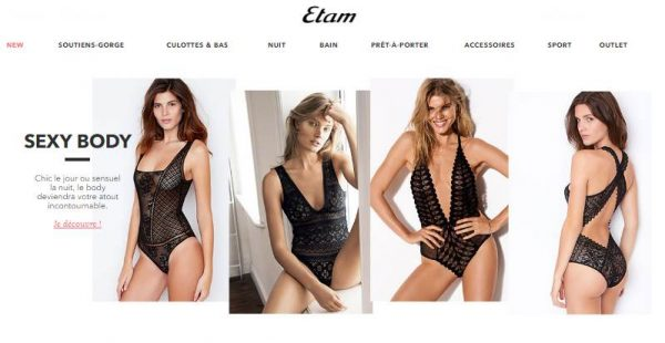 nouvelle collection ETAM